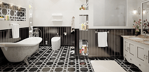 Classic Bathroom In London | bathroom design in london