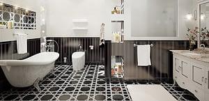 Classic Bathroom In London | bathroom design in london